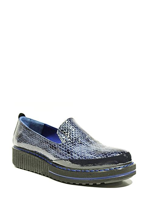 Gardashoes %100 Deri Casual Ayakkabı Lacivert